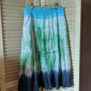 Candie's sparkly prairie skirt